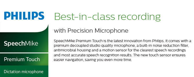 Philips SpeechMike Touch
