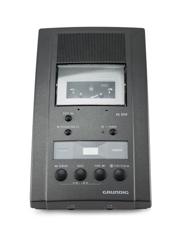 Grundig DT3110 Microcassette Dictation & Transcription Machine - GFF2600