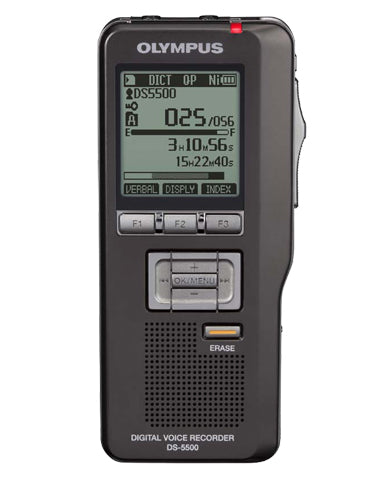 Olympus DS5500 Digital Recorder - No Software