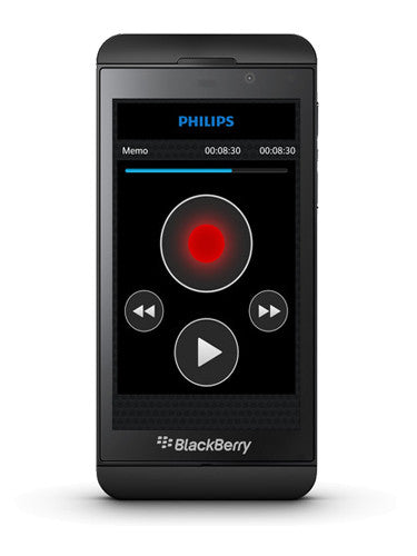 Philips LFH0756 SpeechExec Dictation Hub Licence for Blackberry 10
