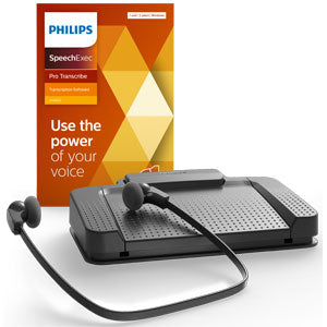 Philips LFH7277 Transcription Kit with SpeechExec Pro Transcribe