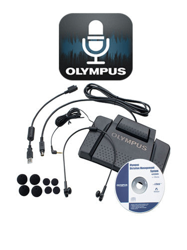 Olympus ODDS Smart Phone App and AS7000 Transcription Kit