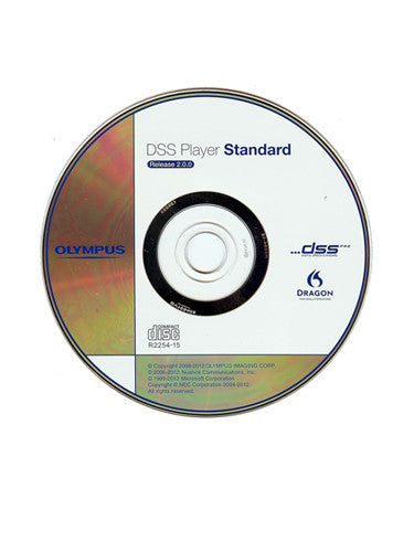 Olympus DSS Player Standard R2 Transcription Software