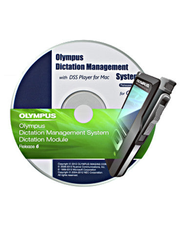 Olympus ODMS Dictation Software