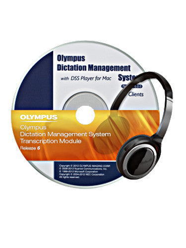Olympus ODMS Transcription Software