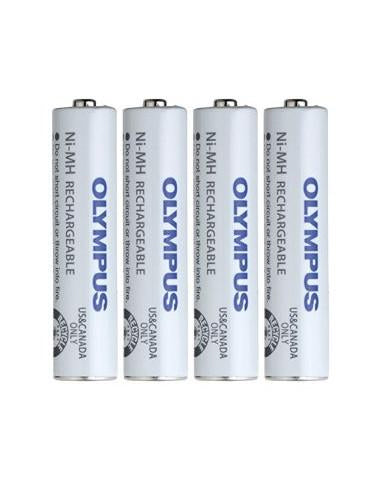 Olympus BR404 Rechargeable batteries - Pack of 4