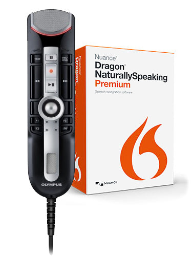 Olympus RM4010P RecMic II with Dragon NaturallySpeaking Premium v13