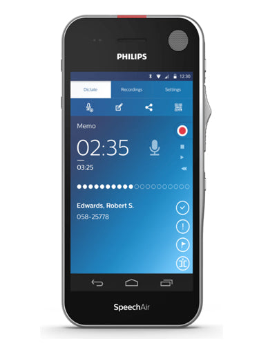Philips PSP2100 SpeechAir Smart Voice Recorder
