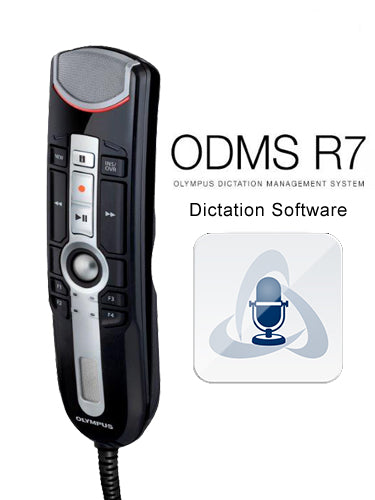 Olympus RM4010P RecMic II with ODMS R7 Dictation Software