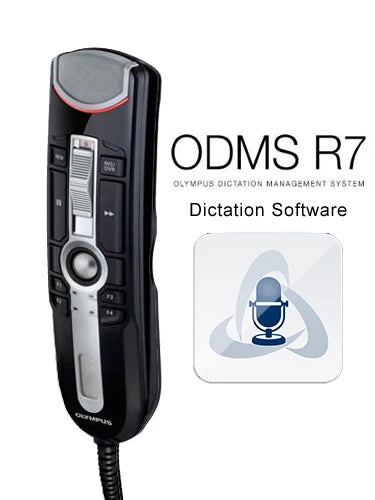 Olympus RM4110S Premium Kit with ODMS R7 Dictation Software