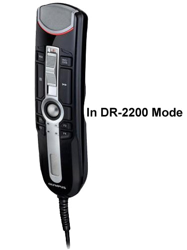 Olympus RM4110S RecMic II in DR-2200 Mode
