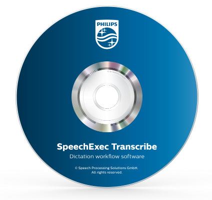 Philips SpeechExec Transcribe Software