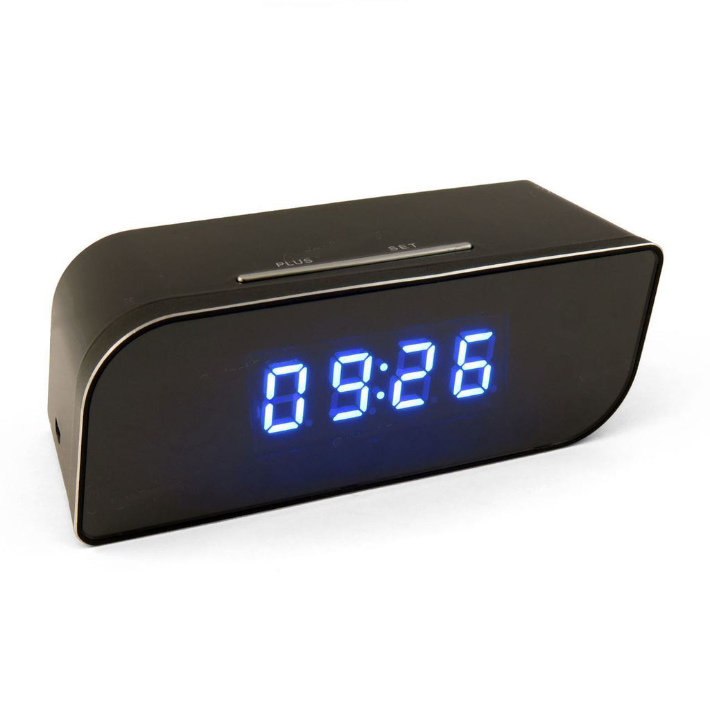 WiFi Spycam Security Clock with Remote Access & Recording