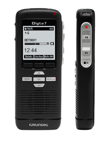 Grundig Digta 7 Digital Recorder Push Button