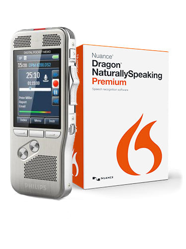 Philips DPM8100 with Dragon NaturallySpeaking Premium v13