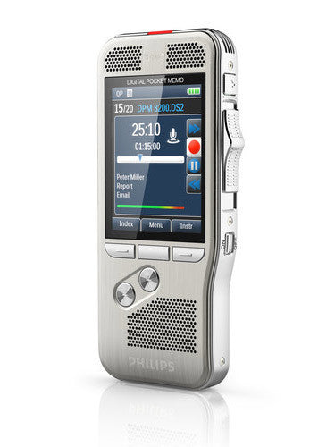 Philips DPM8100 Digital Pocket Memo Side