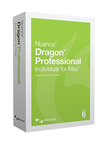 Dragon Professional Individual for Mac v6 Upgrade