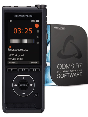 Olympus DS-9000 Digital Recorder Standard Kit with ODMS R7 Dictate Software