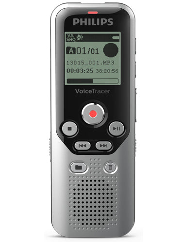 Philips DVT1250 Digital Voice Tracer - 8GB Memory
