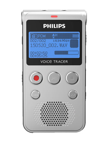 Philips DVT1300 Digital Voice Tracer - Notes & Conversations