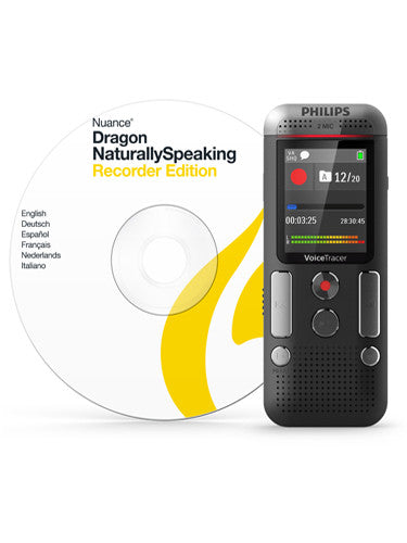 Philips DVT2710 Digital Voice Tracer with Nuance DNS