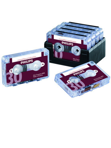Philips LFH0005 Mini Cassette - Pack of 10