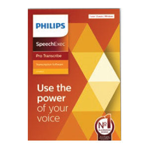 Philips LFH4512/00 SpeechExec Pro Transcribe V11 Software - 2 Year License