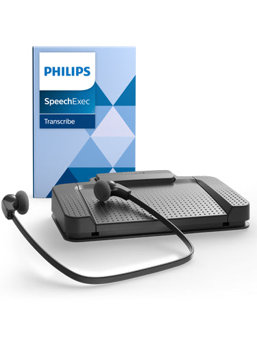 Philips LFH7177 Transcription Kit with SpeechExec Transcribe