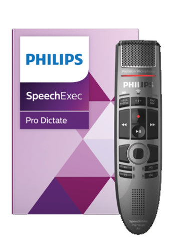 Philips PSE4000 SpeechMike Premium Air with SpeechExec Pro with Speech Recognition