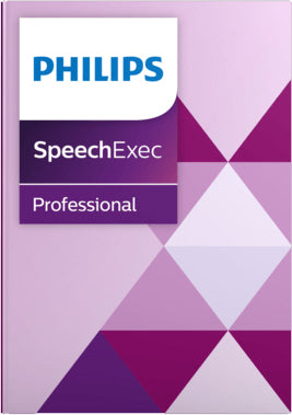 Philips PSE4400 SpeechExec Pro Dictate with Speech Recognition