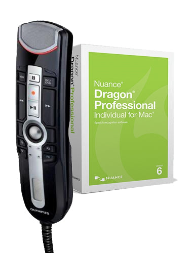 Olympus RM4010P RecMic II with Dragon Professional Individual for Mac v6