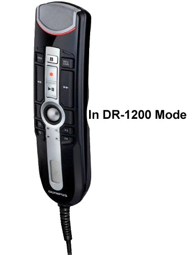 Olympus RM4010P RecMic II in DR-1200 Mode