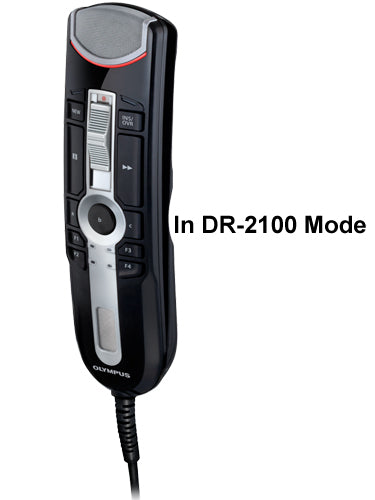 Olympus RM4100S RecMic II in DR-2100 Mode