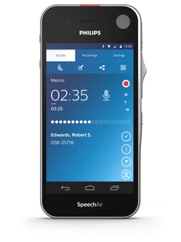 Philips SpeechAir PSP1100 Smart Voice Recorder