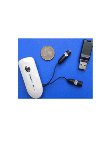 Speechware Bluetooth Transmitter Receiver for any headset with microphone - FMK06