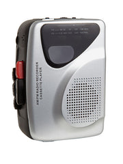 Standard Cassette Player/Recorder with Radio