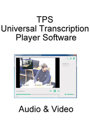 TPS Universal Transcription Player Software