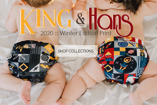 King n Hans Rumparooz Cloth Diapers