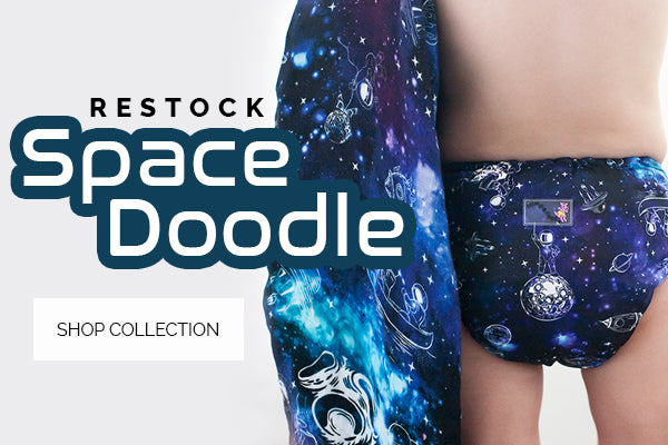 Space Doodle Diapers