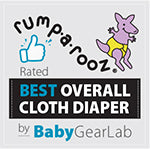 Rumparooz - Rated Best Overall Cloth Diaper by BabyGearLab