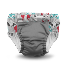 Load image into Gallery viewer, Lil Learnerz Training Pants & Swim Diaper - Clyde & Platinum 2 pack