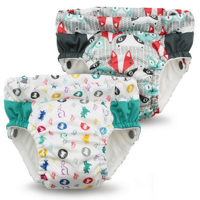 Lil Learnerz Training Pants & Swim Diaper - Roozy & Clyde 2 pack