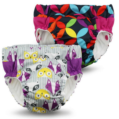 Lil Learnerz Training Pants & Swim Diaper - Bonnie & Jeweled