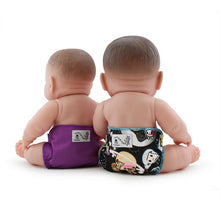 Load image into Gallery viewer, tokidoki x Kanga Care Rumparooz Doll Diapers - tokiSpace & Orchid (2 pack)