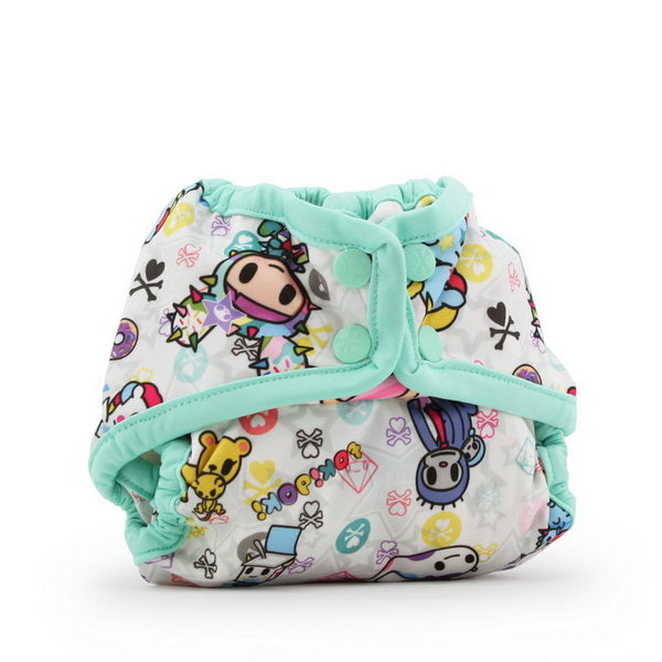 tokidoki x Kanga Care Rumparooz Cloth Diaper Cover - tokiBambino (mint trim)