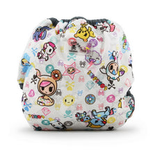 Load image into Gallery viewer, tokidoki x Kanga Care Newborn Cloth Diaper Cover - tokiBambino (mint trim)