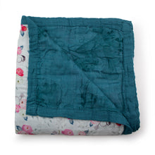 Load image into Gallery viewer, Kanga Care Serene Reversible Blanket - Lily