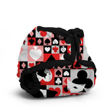 Load image into Gallery viewer, Wonderland QOH Rumparooz Newborn Cloth Diaper Cover