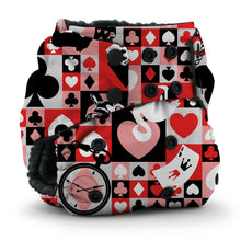Load image into Gallery viewer, Wonderland QOH Rumparooz OBV One Size Pocket Cloth Diaper