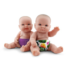 Load image into Gallery viewer, Rumparooz Doll Diapers (2 pk) - Blossom + Orchid